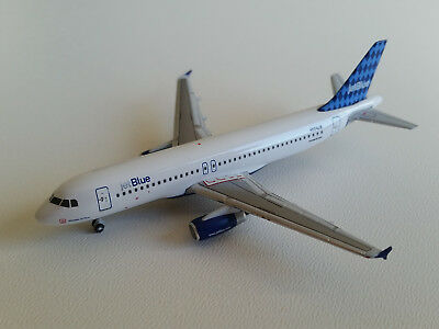 1:400 Gemini Jets JetBlue Airways Airbus A320-200 GJJBU197B N504JB Harlequin