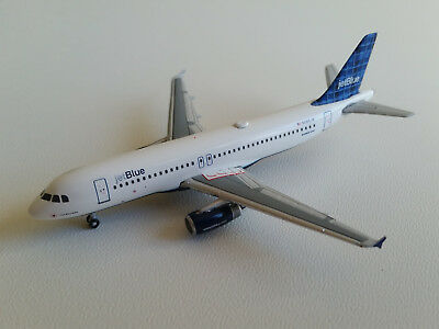 1:400 Gemini Jets JetBlue Airways Airbus A320-200 GJJBU587 N585JB Plaid