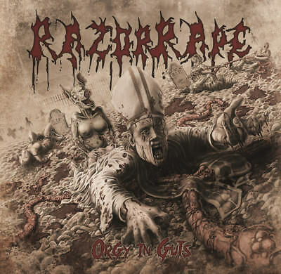 Razorrape - Orgy In Guts LP #117045