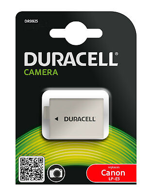 Genuine DR9925 Duracell Camera Battery for Canon  Battery P/No  LP-E5