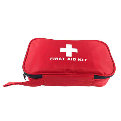 Travel First Aid Kit Emergency Bag Home Medical Box Survival Rescue Pouch