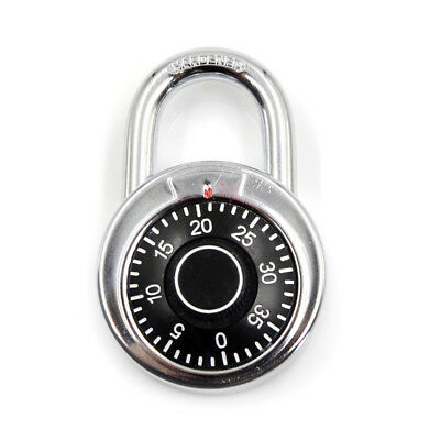 3-Dial Combination Password Padlock for Dormitory Door gym locker Code Lock WL