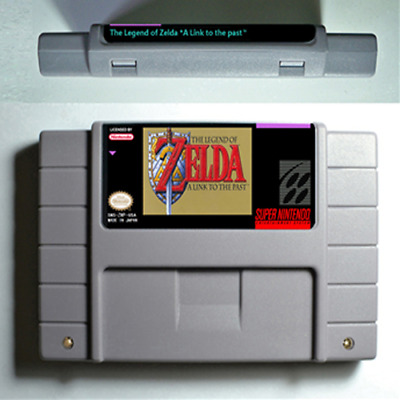 The Legend of Zelda a link to the past Super Nintendo Video Game USA Version