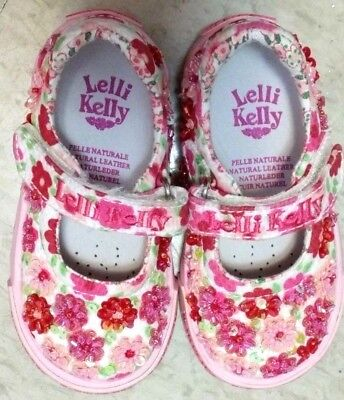 Lelli Kelly Angel Baby Dolly LK9415 Purple Mary Janes Liliac NEW girls Toddler