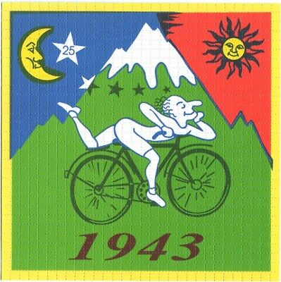 Albert Hofmann bike ride 1943 - Blotter Art