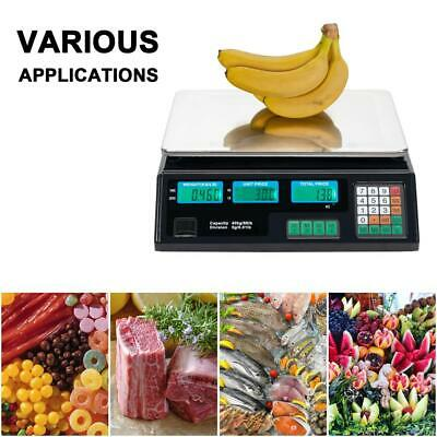 88lb 40kg Digital Postal Scale Computing Produce Electronic Counting Weight