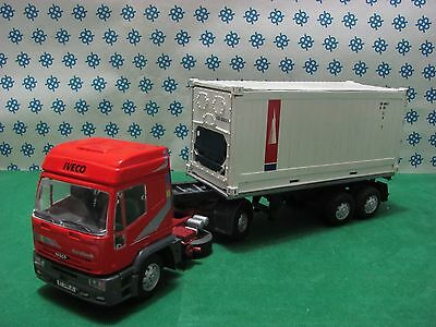 CAMION IVECO Eurotech Bilico Container apribile  -1/43 Old Cars/Gila Modelli