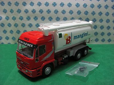 CAMION  IVECO Eurotech Performer  Silos MB Mangimi -1/43 Old Cars/Gila Modelli