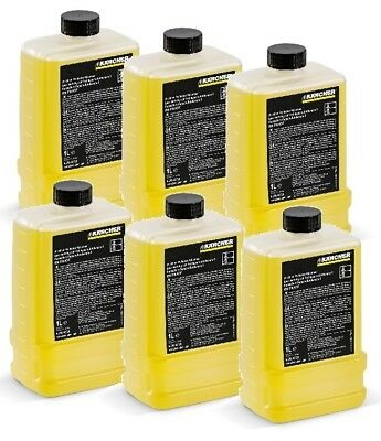 6x 1 Liter Kärcher **Original** Systempflege RM 110 Advance 6.295-624.0