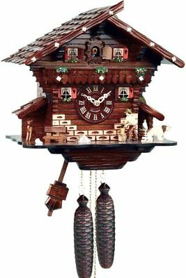 Chalet 30cm- Cuckoo Clock Original Black Forest Cuckoo Clock Real Wood Mecha
