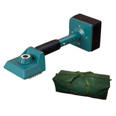 Voche Professional Carpet Fitting Knee Kicker - Green + Heavy Duty Canvas Bag