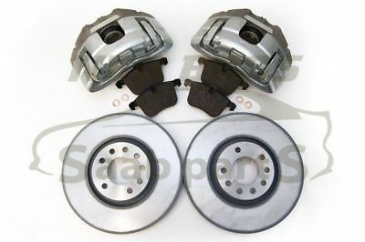 Front Brake Upgrade Kit, 314mm Calipers, Discs & Pads for Vauxhall Vectra Signum