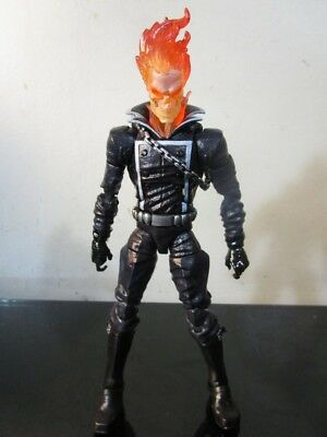 "Marvel Legends Spider-Man Wave 4 Rhino Series GHOST RIDER Loose 6"" Figure Hasbro"