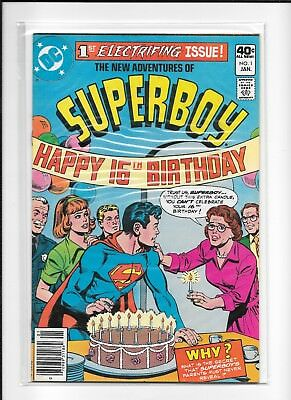 New Adventures Of Superboy #1 (Fn/vf) Dc Bronze