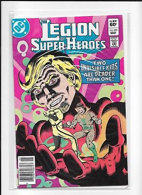 Legion Of Super Heroes #299 Newsstand (9.4) Dc Copper