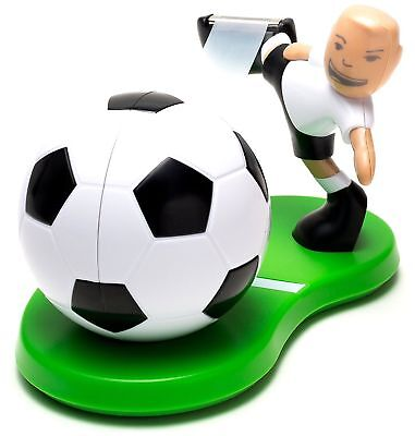 Scotch Magic Tape Football Dispenser - White Black and Green