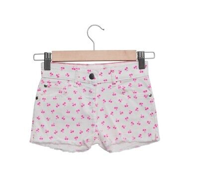 Girls Kids TCP Summer Holiday Casual White Patterned Denim Shorts