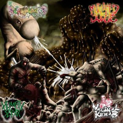 vaginal kebab / scrotovarios / mutilated JUDGE / human scrap - 4 way LP #117050