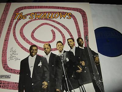 The Swallows : I Only Have Eyes For You Lp 1989 Official Dk
