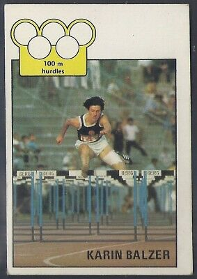 A&bc-Olympics (X36)1972-#05- Athletics - Karin Balzer