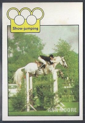 A&bc-Olympics (X36)1972-#06- Show Jumping - Ann Moore