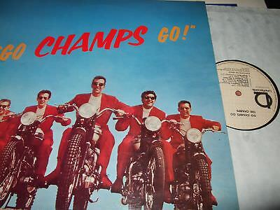 The Champs : Go Champs Go Lp Line Germany