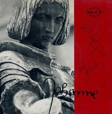 Omd (Joan Of Arc) Signed Autographs