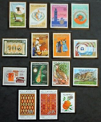 Stamp MOROCCO / MOROCCO Stamp - 15 stamps de 1974 n (Cyn25)