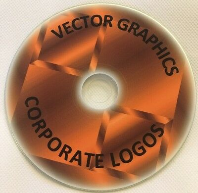 89000 LOGO GRAPHICS images DVD files EPS / CLIPART VECTOR