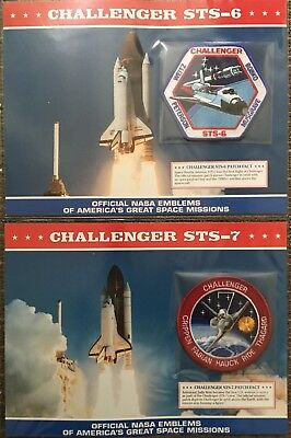 1980's NASA Space Shuttle Challenger Collection. Includes first and the last.
