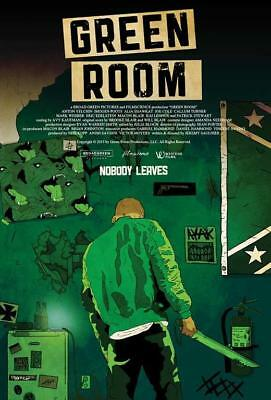 Green Room (2016) 27x40 Movie Poster