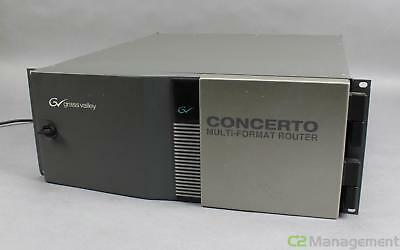 Grass Valley 660005200 Concerto Multi-Format Router