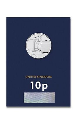 2018 'Early Strike' Uncirculated 10p Coin Tea - T - UNC - Pence - A-Z - Alphabet