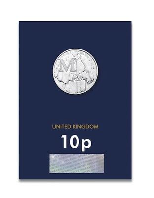 2018 'Early Strike' Uncirculated 10p Coin Mackintosh - M - UNC - A-Z - Alphabet