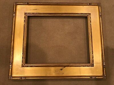 Vintage 14x11 Newcomb Macklin Style Gold Picture Frame