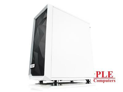 Fractal Design Meshify C White Mid Tower Case w/Tempered Glass Side Panel[FD-..