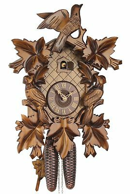 Eble -dreivogel 46cm- 46-07-12-80 Cuckoo Clock Original Black Forest