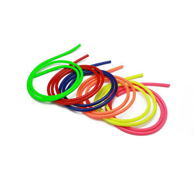6 Colorful 1M Motorcycle Motorbike Fuel Hose Petrol Pipe Line Tube Rubber