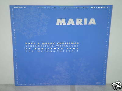 "*****MARIA-HAVE A MERRY CHRISTMAS-7""Inch Single*****"