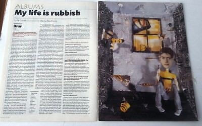 BLUR '13' album review and interview 1999 ARTICLE / clipping
