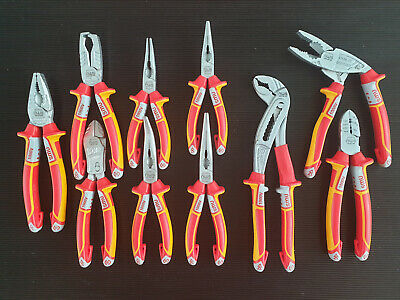 NWS Mixed Electrician pliers set, 10pcs