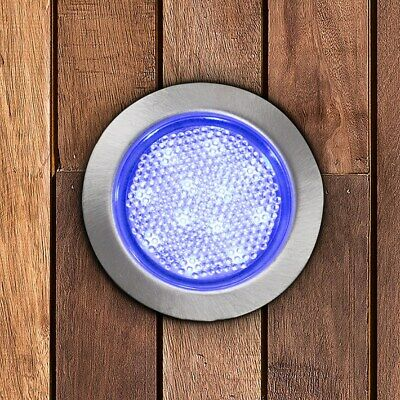 NEW MiniSun Outdoor Lighting LED Decking Light Kits 60mm Blue Warm / Cool White