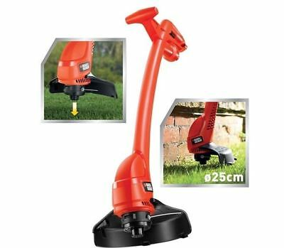 Black and Decker GL360 240v String Grass Trimmer Strimmer 25cm Bump Feed 350w