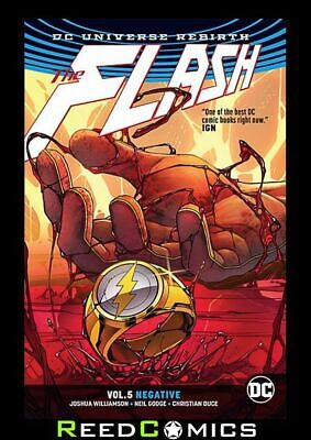 FLASH VOLUME 5 NEGATIVE GRAPHIC NOVEL Paperback Collects (2016) #28-32