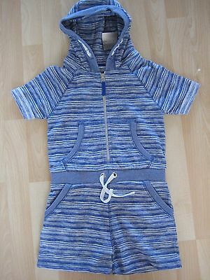 Girls Aged 5 Years Blue Hooded All in One from Next