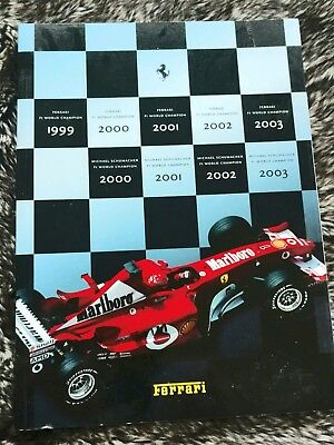 Ferrari-2003-Yearbook-Coffee-Table-Book-Soft-Cover-Collectible