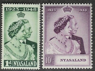 Nyasaland 1948 George Vi Wedding Mint Nh