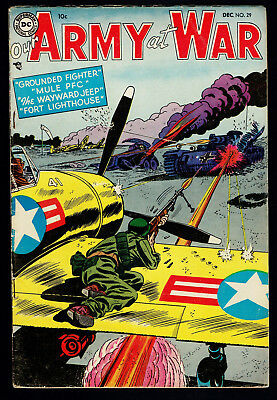 1954 DC Our Army at War #29 VG