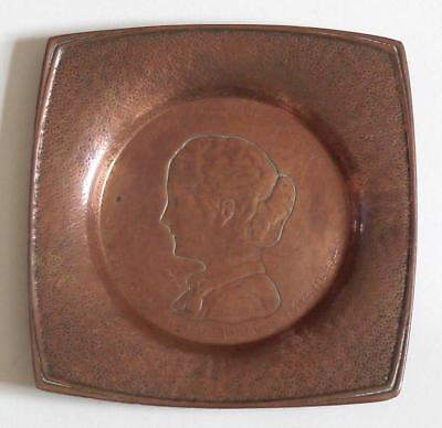 Antique Gorham (Copper Dish) The 370Th Performance Of The Play Hazel Kirke