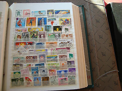 ASIE - 54 stamps canceled (all state) stamp